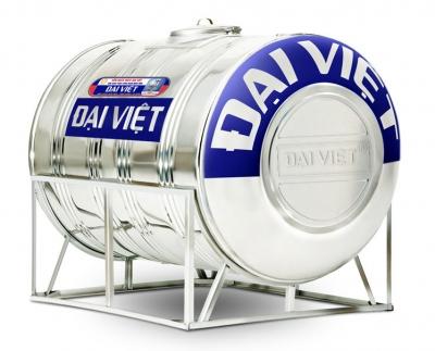 Bồn inox Đại Việt 1000 lít ngang