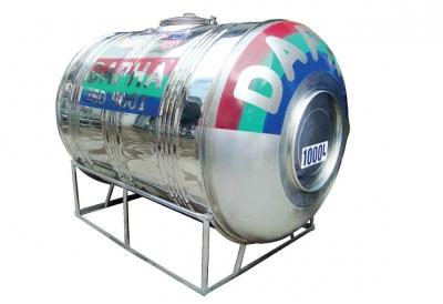 Bồn Inox Dapha 1000 lít Ngang Xuất Khẩu